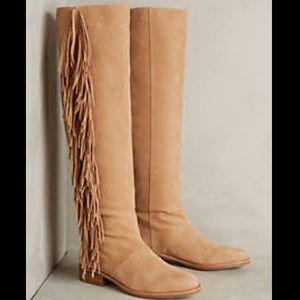 Sam Edelman Josephine Fringe Tall Boot 5